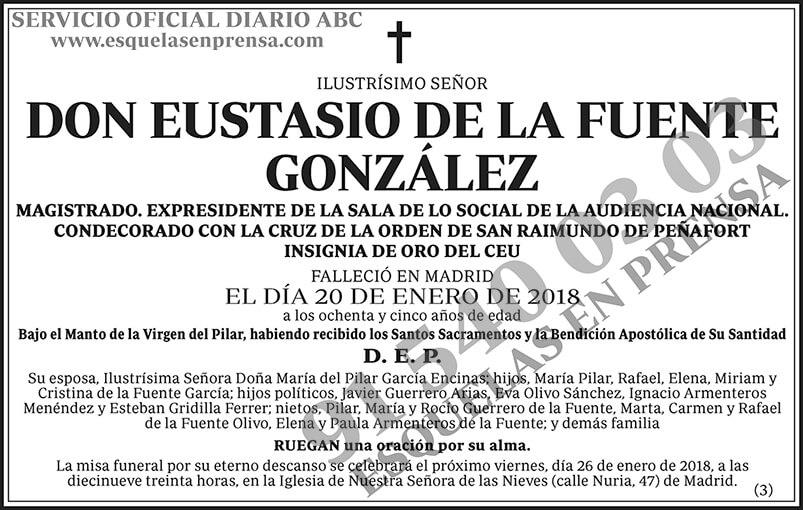 Eustasio de la Fuente González